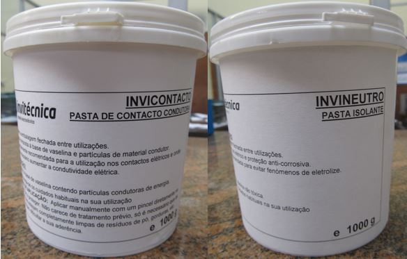 Paste for Protection, Isolation and Improvement of Electrical Contacts - INVINEUTRO and INVICONTACTO